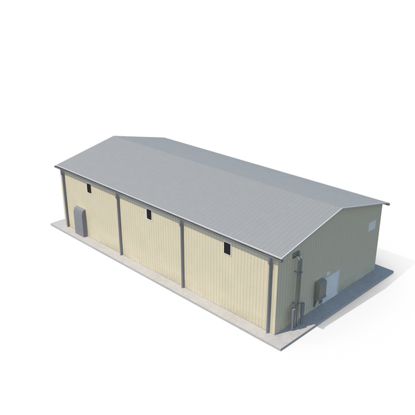Industrial Site Building PNG & PSD Images