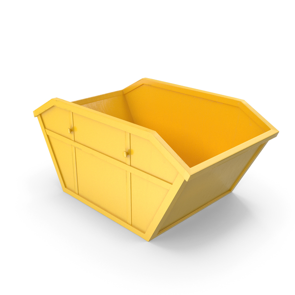 Industrial Skip Vray Delivery PNG & PSD Images