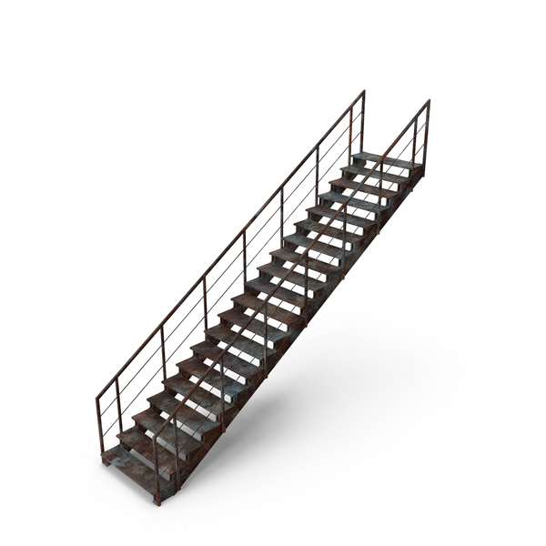 Stair: Industrial Staircase PNG & PSD Images