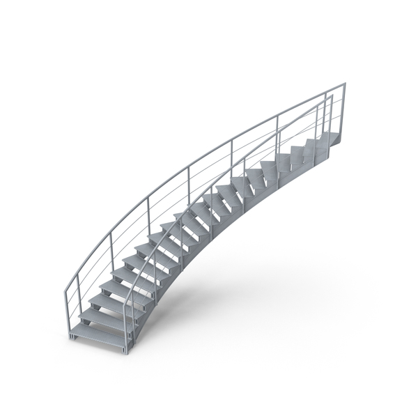 Stair: Industrial Staircase Object