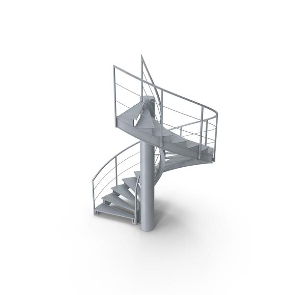 Industrial Staircase Object