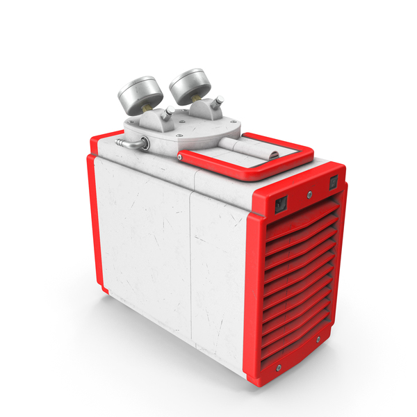 Ground Power Units: Industrial Vacuum Pump Oil Red Used PNG & PSD Images