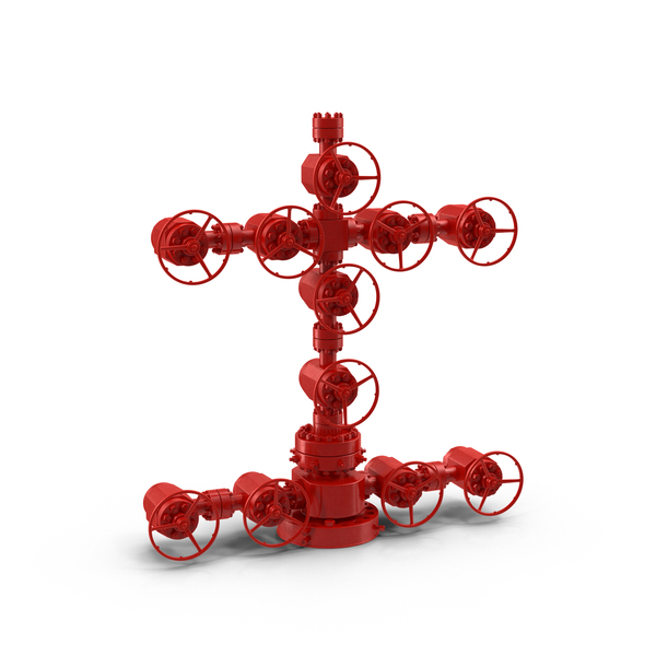 Industrial Wellhead Christmas Tree PNG & PSD Images