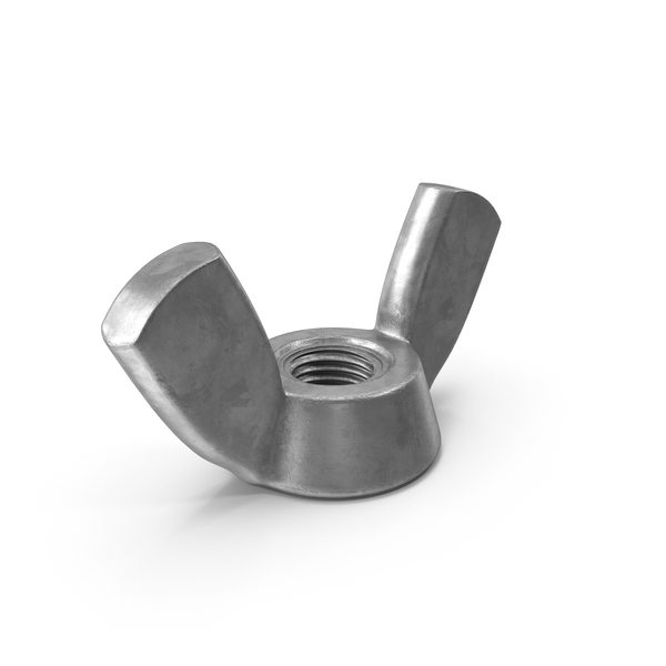 Nut: Industrial Wingnut PNG & PSD Images