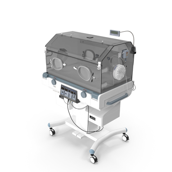 Infant Incubator For Intensive Therapy PNG & PSD Images