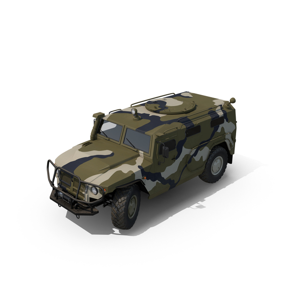 Light Armored: Infantry Mobility Vehicle GAZ Tigr M PNG & PSD Images
