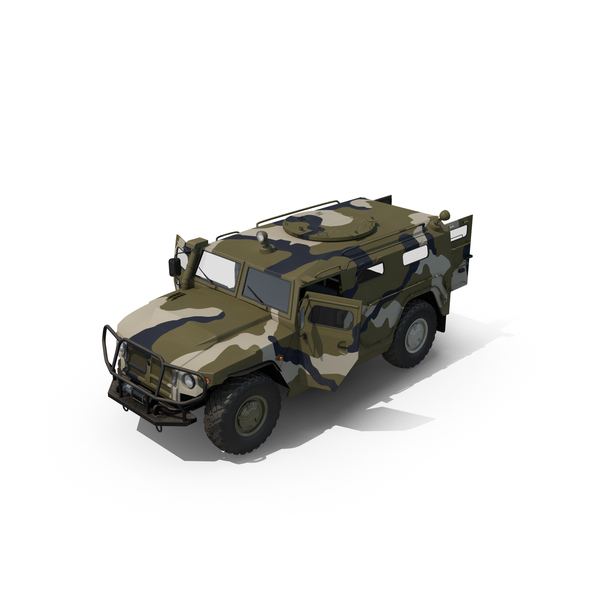 Light Armored: Infantry Mobility Vehicle GAZ Tigr M Object