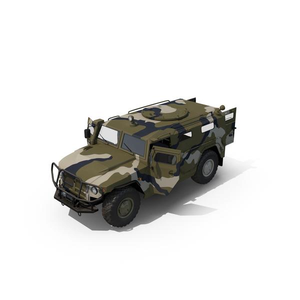 Infantry Mobility Vehicle GAZ Tigr M Object