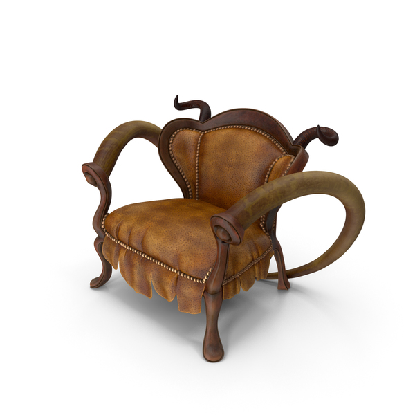 Infernal Furniture Animal Armchair PNG & PSD Images