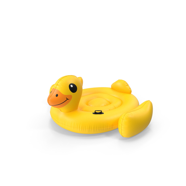 Inflatable Duck Pool Float PNG & PSD Images