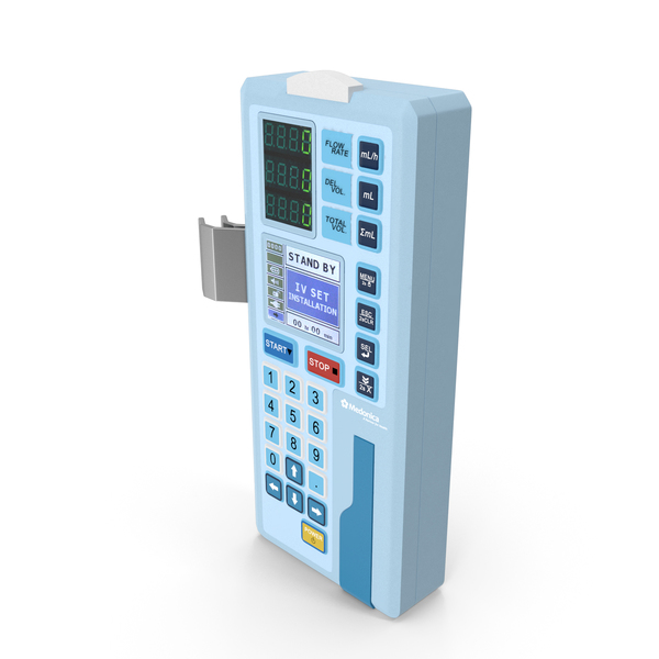 Infusion Pump IP-7700 PNG & PSD Images