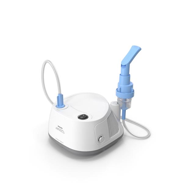 Medical Equipment: InnoSpire Elegance Compressor Nebulizer System PNG & PSD Images