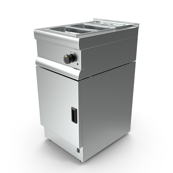 Inox Electric Counter-Top Bain Marie PNG & PSD Images