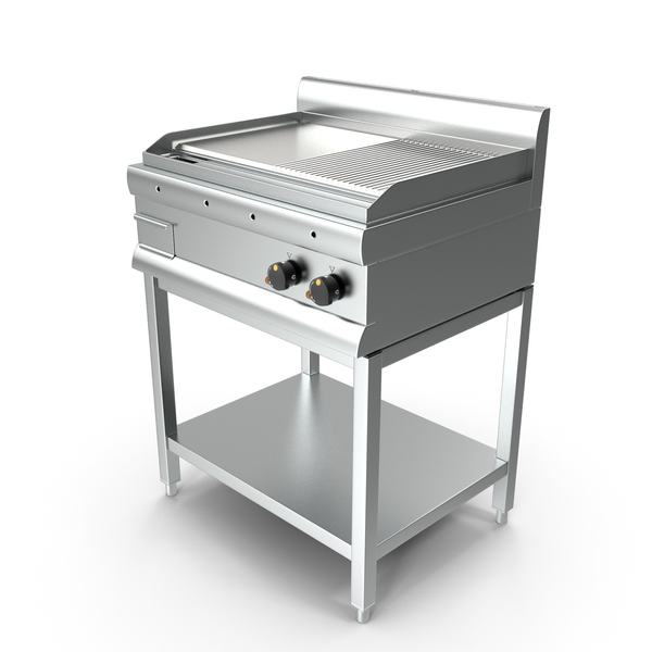 Inox Electric Griddle PNG & PSD Images