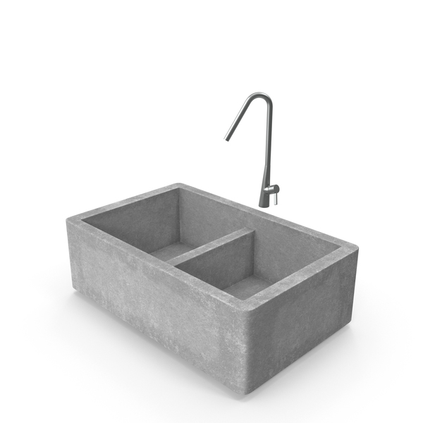 Inox Farmhouse Sink PNG & PSD Images