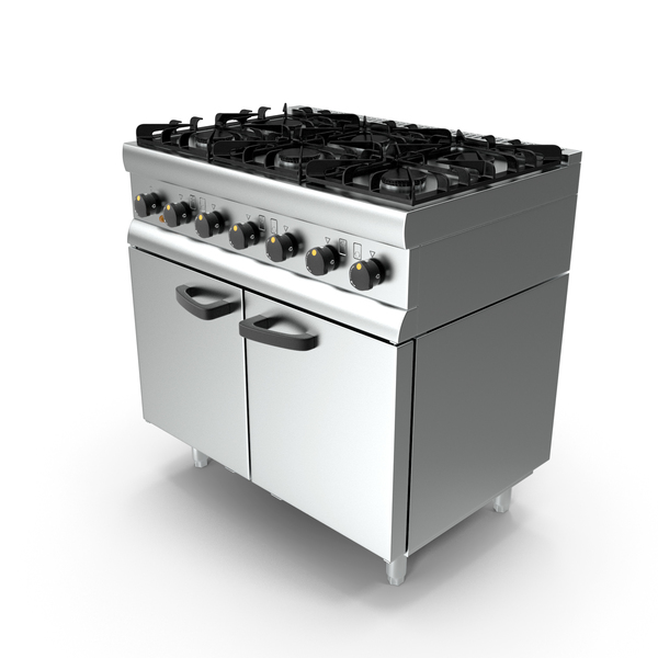 Inox Kitchen Gas Oven PNG & PSD Images