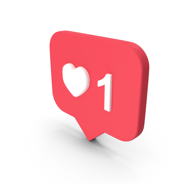 Heart Shape: Instagram Like Icon PNG & PSD Images