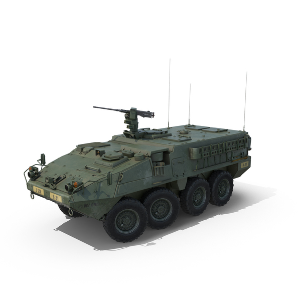 Interim Armored Vehicle Stryker M1126 PNG & PSD Images