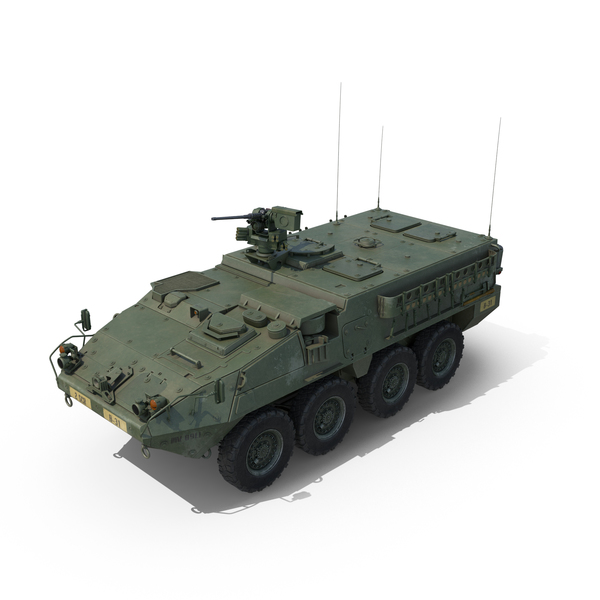 Interim Armored Vehicle Stryker M1126 Object
