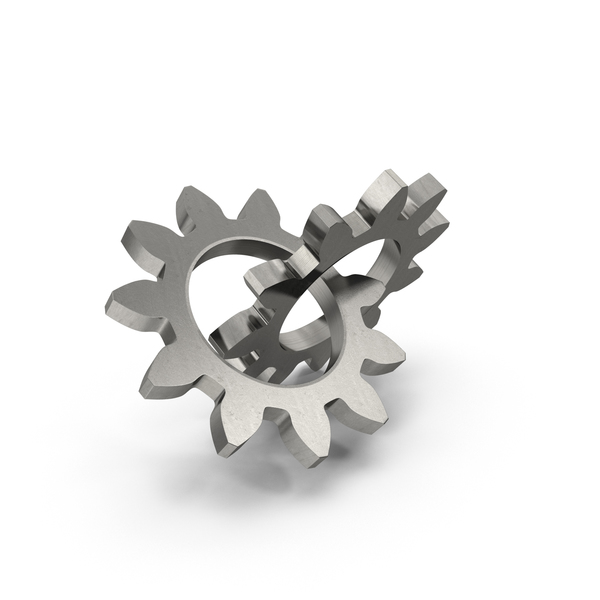 Interlocking Gears PNG & PSD Images
