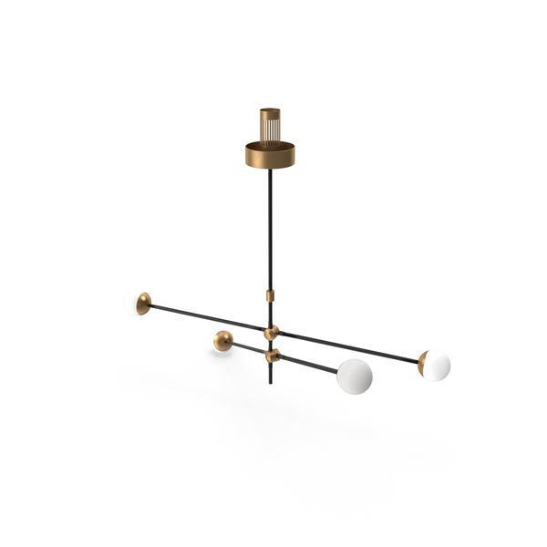 Intueri light SI-4 chandelier PNG & PSD Images