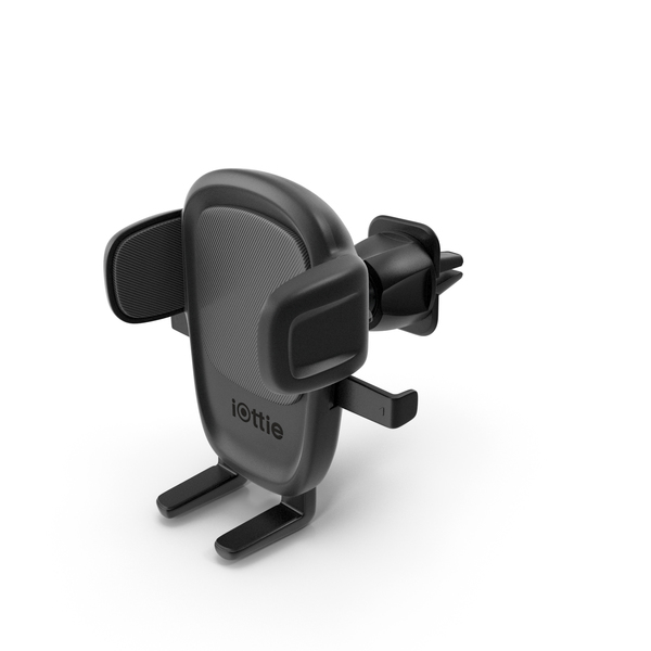 Cell: iOttie Easy One Touch 5 Air Vent Car Mount Phone Holder PNG & PSD Images