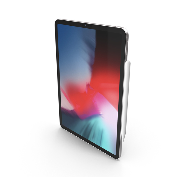 Tablet Computer: iPad Pro 2019 11 Inch Silver PNG & PSD Images