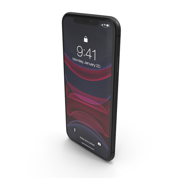 iPhone 11 Black PNG & PSD Images