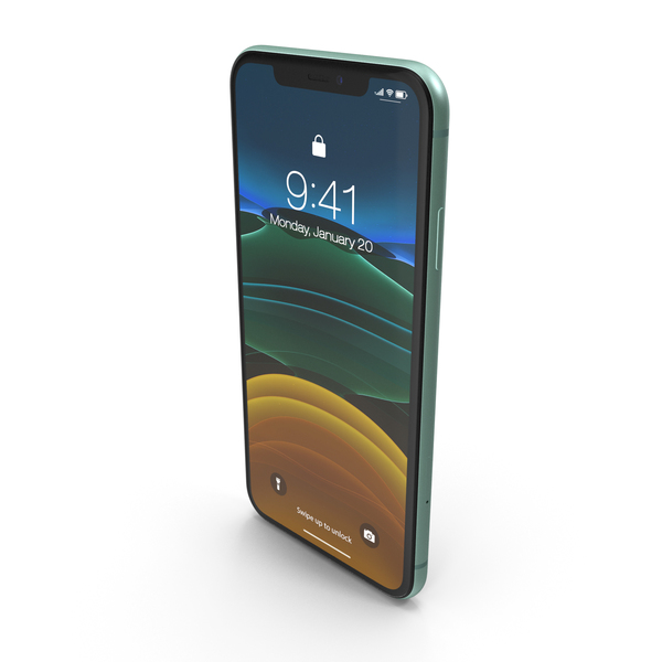 iPhone 11 Green PNG & PSD Images