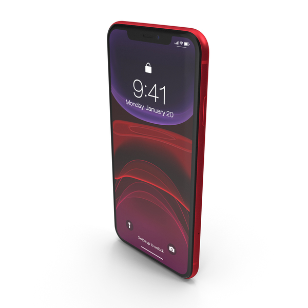 iPhone 11 Red PNG & PSD Images