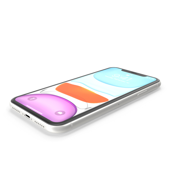 iPhone 11 White PNG & PSD Images