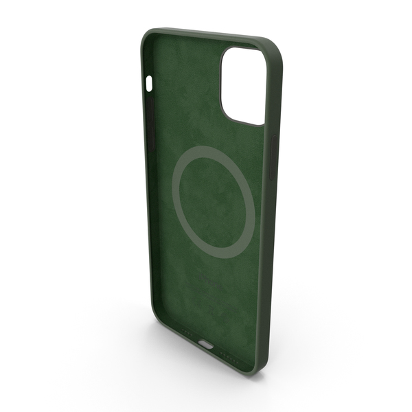 iPhone 12 Pro Max Silicone Case Cyprus Green PNG & PSD Images