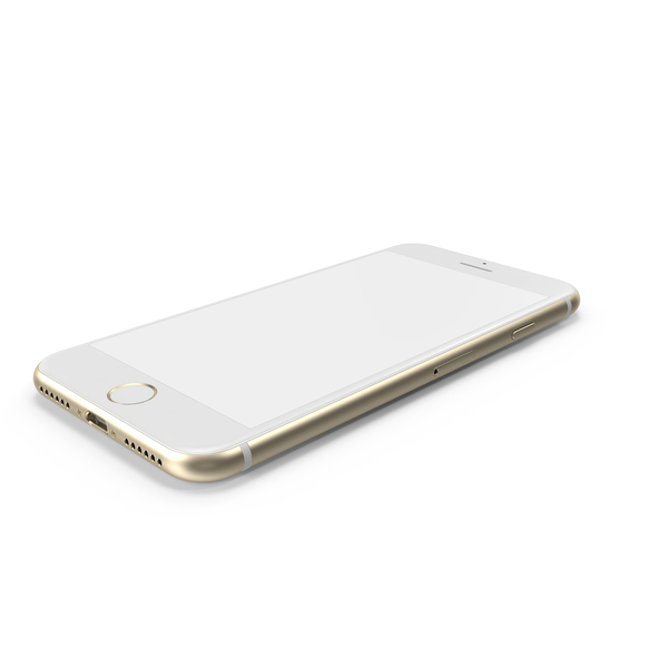iPhone 7 Gold PNG & PSD Images
