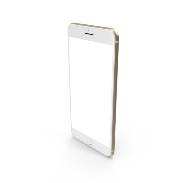 iPhone 7 Plus Gold PNG & PSD Images