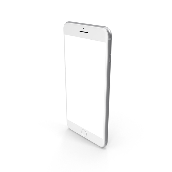 iPhone 7 Plus Silver PNG & PSD Images