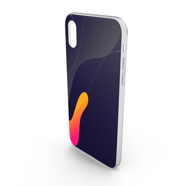 Cell Phone: iPhone X Case 10 PNG & PSD Images