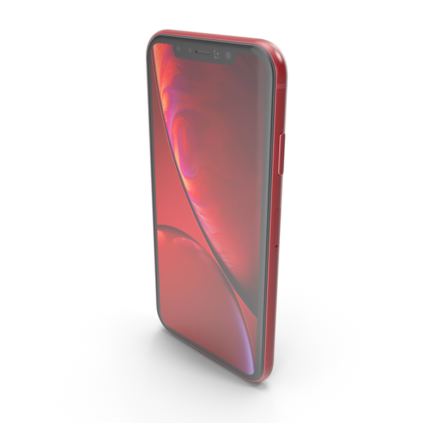 iPhone XR Red PNG & PSD Images