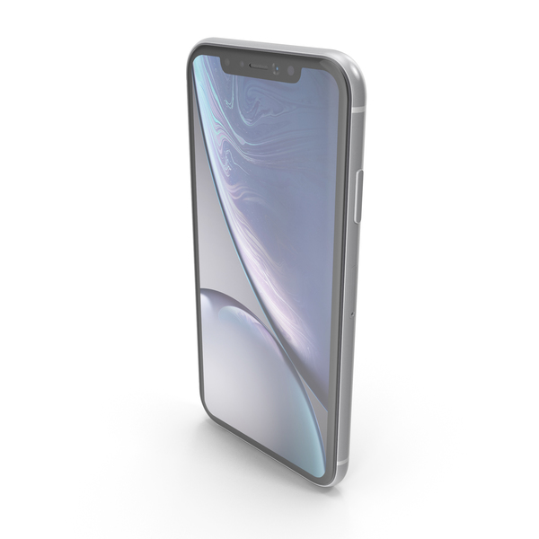 iPhone XR White PNG & PSD Images