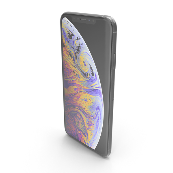 iPhone XS Max Silver PNG & PSD Images