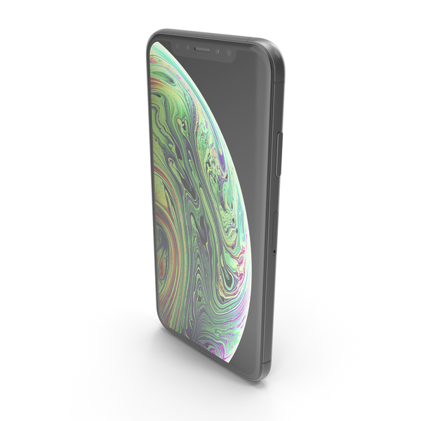 iPhone XS Space Gray PNG & PSD Images
