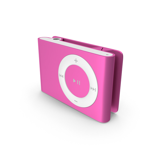iPod Shuffle 2nd Generation Pink PNG & PSD Images