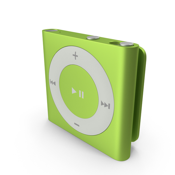 iPod Shuffle Green PNG & PSD Images