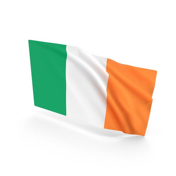 Ireland Waving Flag PNG & PSD Images