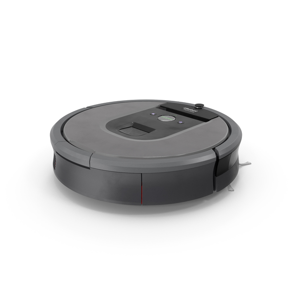 iRobot Roomba960 Robotic Vacuum Cleaner PNG & PSD Images