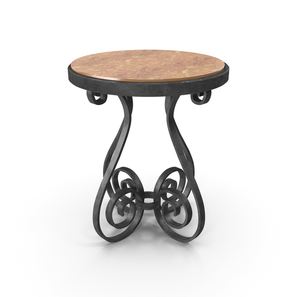 End: Iron Coffe Table PNG & PSD Images