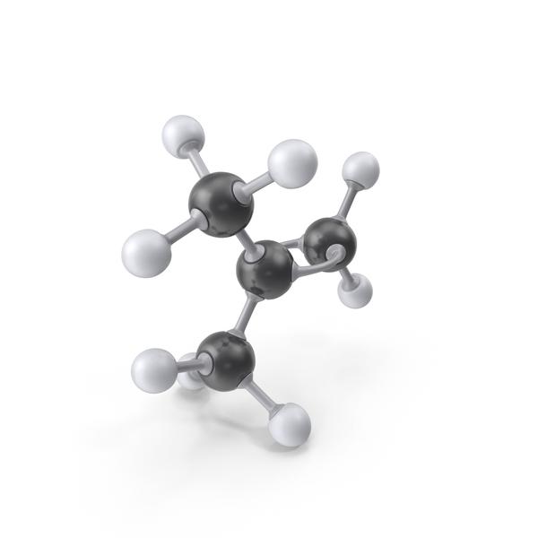 Isobutylene Molecule PNG & PSD Images