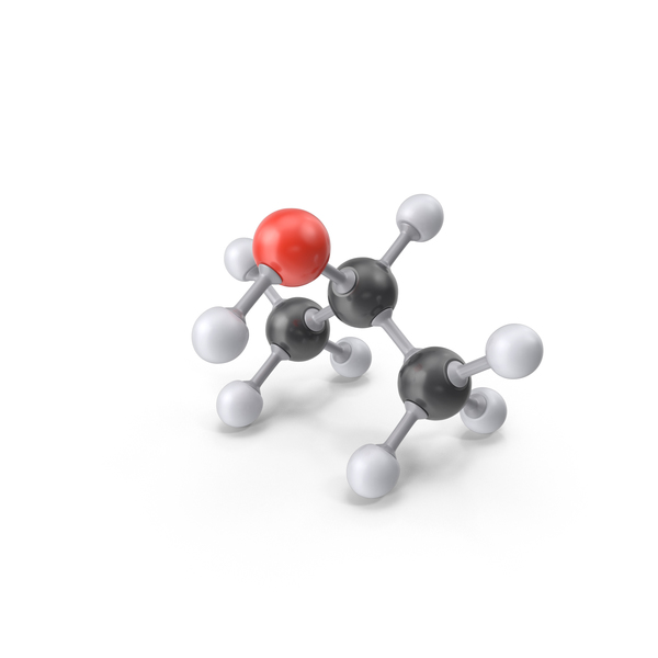 Isopropyl Alcohol Molecule PNG & PSD Images