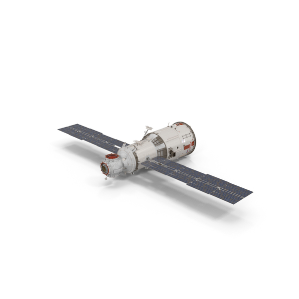 ISS Zvezda Service Module PNG & PSD Images
