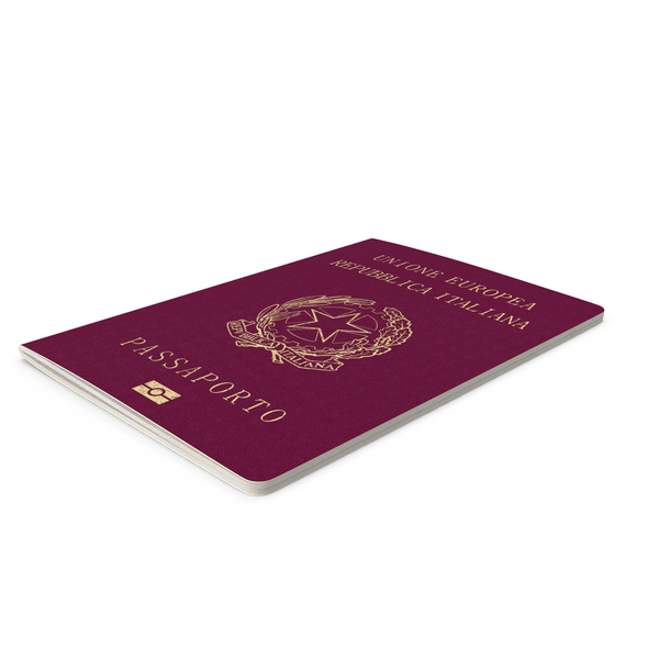 Italian Passport Object