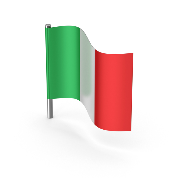 Italy Cartoon Flag PNG & PSD Images